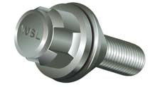 WSL Caravan Wheel Safety Bolt